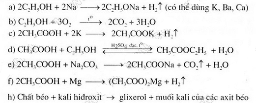 Bài 3 trang 149 SGK Hóa học 9