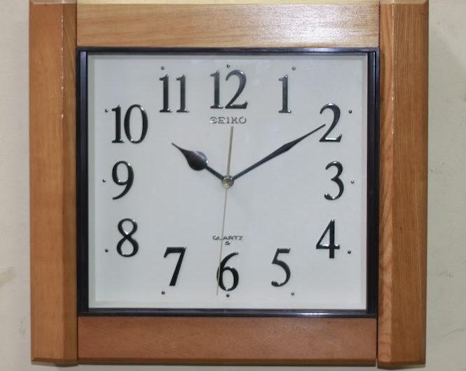 Tả chiếc đồng hồ treo tường nhà em